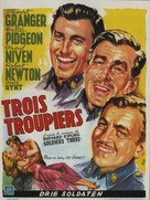 Soldiers Three - Belgian Movie Poster (xs thumbnail)