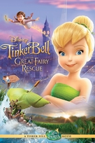 Tinker Bell and the Great Fairy Rescue - DVD cover (xs thumbnail)