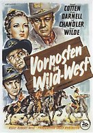 Two Flags West - German Movie Poster (xs thumbnail)
