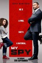 My Spy - Malaysian Movie Poster (xs thumbnail)
