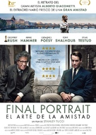 Final Portrait - Spanish Movie Poster (xs thumbnail)
