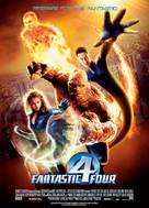 Fantastic Four - Norwegian Movie Poster (xs thumbnail)