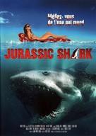 Jurassic Shark - French DVD cover (xs thumbnail)