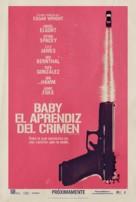 Baby Driver - Spanish Movie Poster (xs thumbnail)