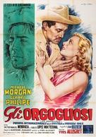 Orgueilleux, Les - Italian Movie Poster (xs thumbnail)