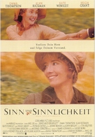 Sense and Sensibility - German Movie Poster (xs thumbnail)