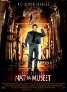 Night at the Museum - Danish Movie Poster (xs thumbnail)