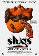 Slugs, muerte viscosa - Spanish Movie Poster (xs thumbnail)