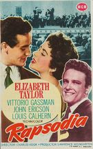 Rhapsody - Spanish Movie Poster (xs thumbnail)