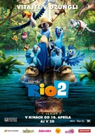 Rio 2 - Slovak Movie Poster (xs thumbnail)
