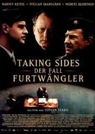 Taking Sides - German Movie Poster (xs thumbnail)