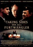 Taking Sides - German Movie Poster (xs thumbnail)