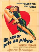 The Lady Eve - French Movie Poster (xs thumbnail)