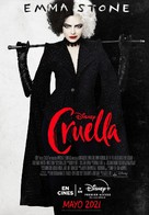 Cruella - Argentinian Movie Poster (xs thumbnail)