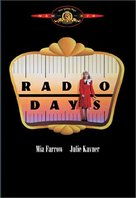 Radio Days - DVD cover (xs thumbnail)