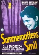 Sommarnattens leende - Danish Movie Poster (xs thumbnail)