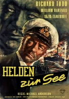 Yangtse Incident: The Story of H.M.S. Amethyst - German Movie Poster (xs thumbnail)