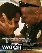 End of Watch - For your consideration movie poster (xs thumbnail)
