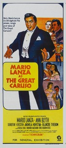 The Great Caruso - Australian Movie Poster (xs thumbnail)