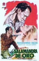 Golden Salamander - Spanish Movie Poster (xs thumbnail)