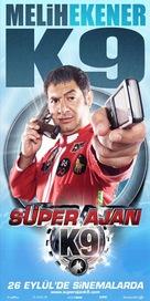Superajan K9 - Turkish Movie Poster (xs thumbnail)