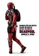 Deadpool - Slovenian Movie Poster (xs thumbnail)