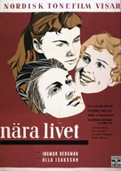 Nära livet - Swedish Movie Poster (xs thumbnail)