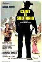 Clint el solitario - Spanish Movie Poster (xs thumbnail)