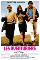 Les aventuriers - French Movie Poster (xs thumbnail)