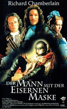 The Man in the Iron Mask - German VHS movie cover (xs thumbnail)