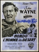 Hondo - French Movie Poster (xs thumbnail)