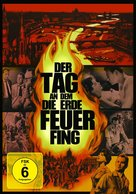 The Day the Earth Caught Fire - German DVD cover (xs thumbnail)