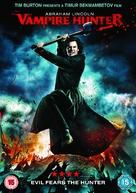 Abraham Lincoln: Vampire Hunter - British DVD movie cover (xs thumbnail)