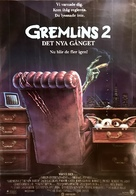 Gremlins 2: The New Batch - Swedish Movie Poster (xs thumbnail)