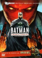 Batman: Under the Red Hood - Mexican DVD movie cover (xs thumbnail)