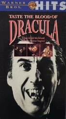 Taste the Blood of Dracula - VHS movie cover (xs thumbnail)