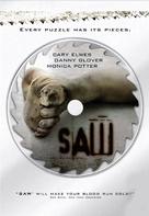 Saw - DVD movie cover (xs thumbnail)