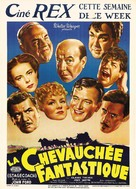 Stagecoach - Belgian Movie Poster (xs thumbnail)