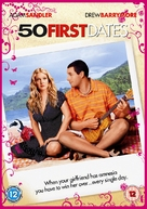 50 First Dates - British DVD movie cover (xs thumbnail)