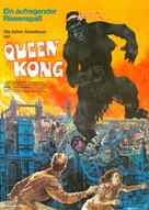 Queen Kong - German Movie Poster (xs thumbnail)