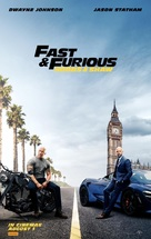 Fast & Furious Presents: Hobbs & Shaw - Australian Movie Poster (xs thumbnail)