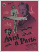April in Paris - French Movie Poster (xs thumbnail)