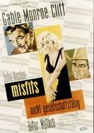 The Misfits - German Movie Poster (xs thumbnail)