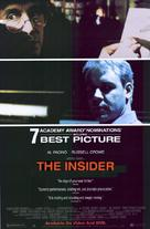 The Insider - Movie Poster (xs thumbnail)