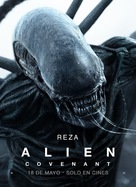 Alien: Covenant - Argentinian Movie Poster (xs thumbnail)