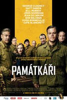 The Monuments Men - Czech Movie Poster (xs thumbnail)
