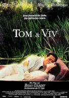 Tom & Viv - German Movie Poster (xs thumbnail)