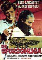 The Unforgiven - Swedish Movie Poster (xs thumbnail)