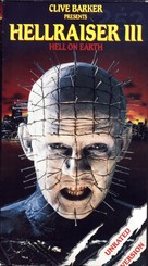 Hellraiser III: Hell on Earth - VHS movie cover (xs thumbnail)