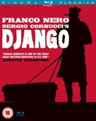 Django - British Blu-Ray movie cover (xs thumbnail)